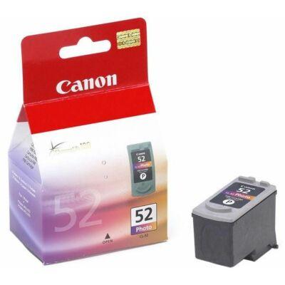 Canon® CL-52 eredeti fotó tintapatron, ~375 oldal (cl52)