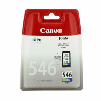 Canon® CL-546 eredeti színes tintapatron, ~180 oldal (cl546)