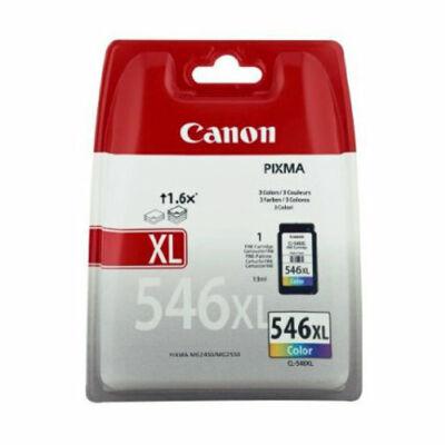 Canon® CL-546XL eredeti színes tintapatron, ~300 oldal (cl546xl)
