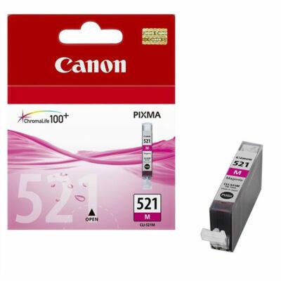 Canon® CLI-521M eredeti magenta tintapatron, ~300 oldal (cli521)