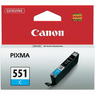 Canon® CLI-551C eredeti cián tintapatron, ~300 oldal (cli551)