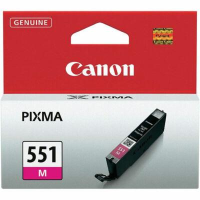 Canon® CLI-551M eredeti magenta tintapatron, ~300 oldal (cli551)