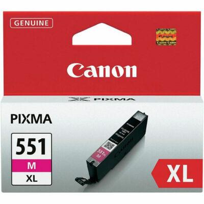 Canon® CLI-551M XL eredeti magenta tintapatron, ~660 oldal (cli551xl)