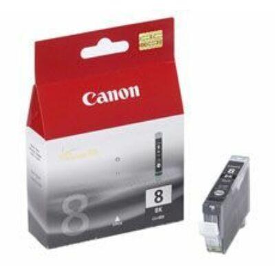 Canon® CLI-8BK eredeti fekete tintapatron, ~500 oldal (cli8 vékony fekete)
