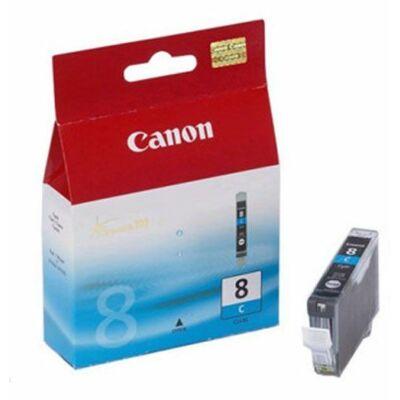 Canon® CLI-8C eredeti cián tintapatron, ~500 oldal (cli8)