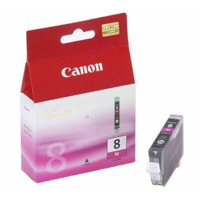Canon® CLI-8M eredeti magenta tintapatron, ~500 oldal (cli8)