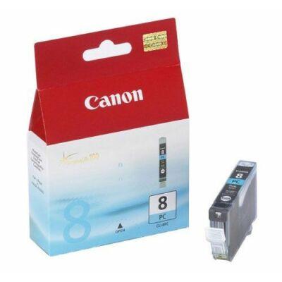 Canon® CLI-8PC eredeti fotó cián tintapatron, ~500 oldal (cli8)