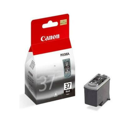Canon® PG-37 eredeti fekete tintapatron, ~130 oldal (pg37)