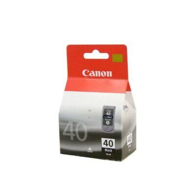Canon® PG-40 eredeti fekete tintapatron, ~400 oldal (pg40)