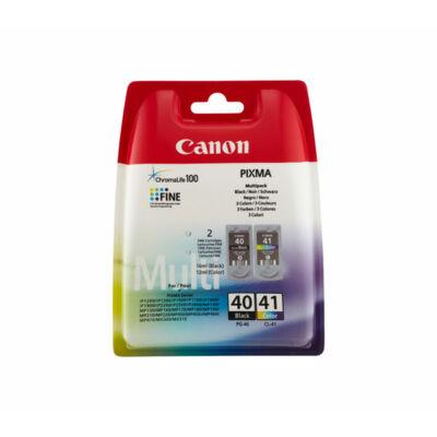 Canon® PG-40/CL-41 eredeti (fekete+színes) tintapatron multipakk, ~400/300 oldal (pg40cl41)