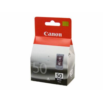 Canon® PG-50 eredeti fekete tintapatron, ~500 oldal (pg50)