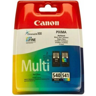 Canon® PG-540/CL-541 eredeti (fekete+színes) tintapatron multipakk, ~180/180 oldal (pg540cl541)