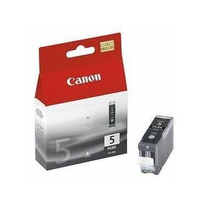 Canon® PGI-5PGBK eredeti fekete tintapatron, ~360 oldal (pgi5 vastag fekete)
