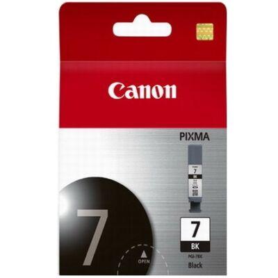 Canon® PGI-7Bk eredeti fekete tintapatron, ~150 oldal (pgi7)