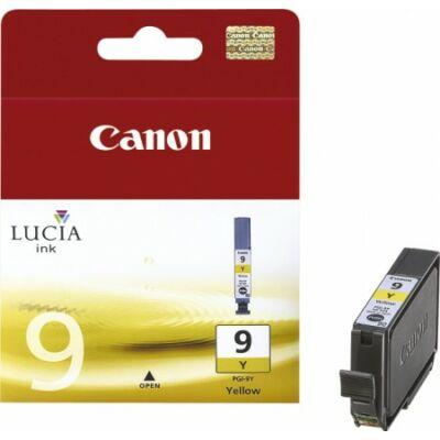 Canon® PGI-9Y eredeti sárga tintapatron, ~150 oldal (pgi9)