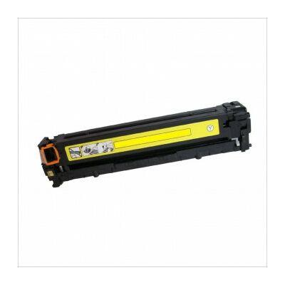Utángyártott CRG-716 Y sárga toner Canon nyomtatókhoz (CB542) (≈1500 oldal)