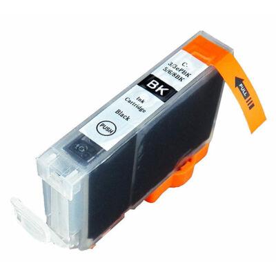 CANON -hoz BCI-6bk ,BCI-3ePBK utángyártott tintapatron (Vékony)