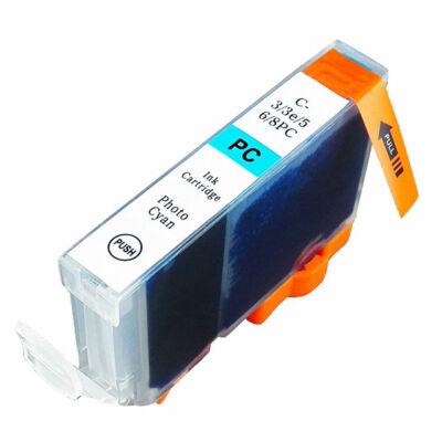 Canon nyomtatóhoz CLI8PC, CLI-8PC utángyártott chip nélküli tintapatron