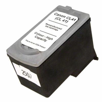 Canon nyomtatóhoz CL-41 kompatibilis tintapatron (színes) cl41