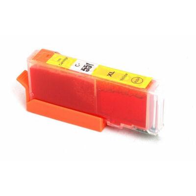 Canon nyomtatóhoz CLI-551XL Y (sárga) utángyártott !CHIPES! tintapatron