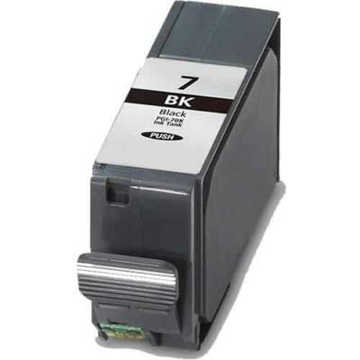 Canon -hoz PGI-7 (PGI7) fekete, chipes kompatibilis tintapatron