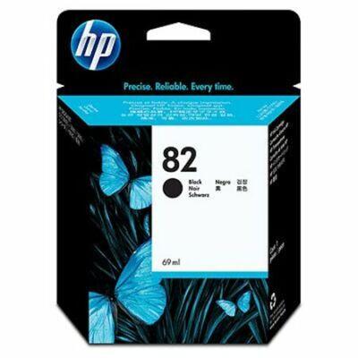 HP Nr.82 (CH565A) eredeti fekete tintapatron, 69ml