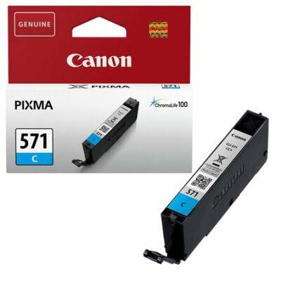 Canon® CLI-571C eredeti cián tintapatron, ~345 oldal (cli571)