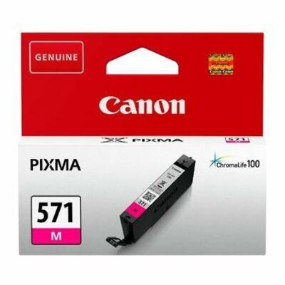 Canon® CLI-571M eredeti magenta tintapatron, ~306 oldal (cli571)