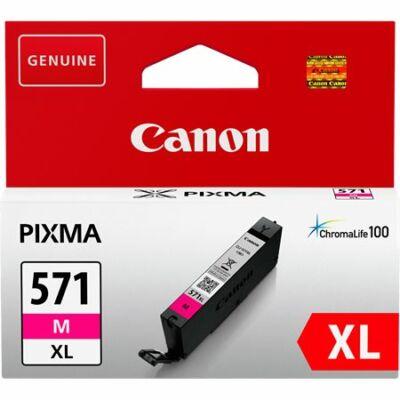 Canon® CLI-571M XL eredeti magenta tintapatron, ~645 oldal (cli571)