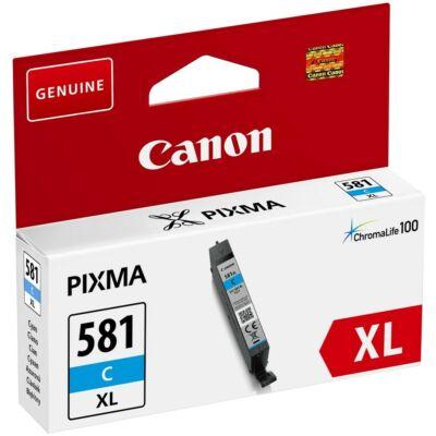 Canon CLI-581C XL eredeti cián tintapatron, ~515 oldal