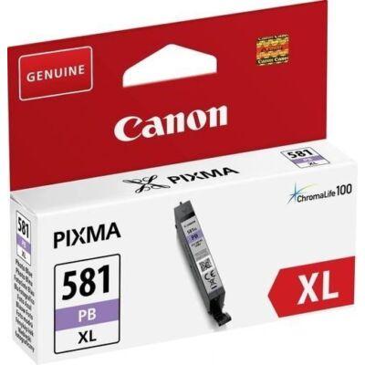 Canon CLI-581PB XL eredeti fotókék tintapatron, ~4710 oldal*