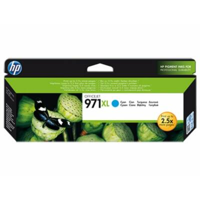 HP Nr.971XL (CN626AE) eredeti cián tintapatron, ~6600 oldal
