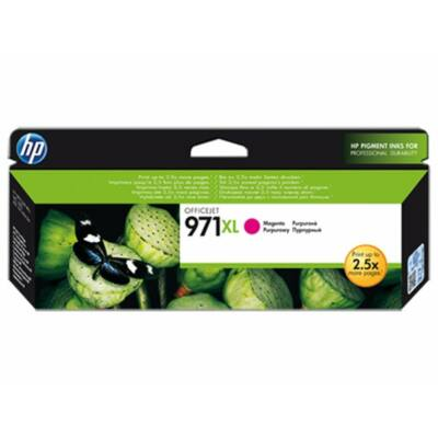 HP Nr.971XL (CN627AE) eredeti magenta tintapatron, ~6600 oldal