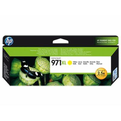 HP Nr.971XL (CN628AE) eredeti sárga tintapatron, ~6600 oldal