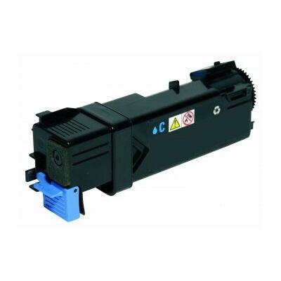Utángyártott D132 C, D1320 cián toner  DELL nyomtatókhoz (≈2000 oldal)