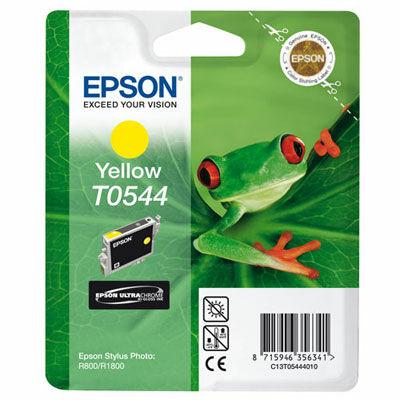 Epson T054440 sárga eredeti tintapatron (≈400oldal)