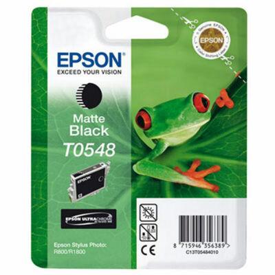 Epson T054840 matt fekete eredeti tintapatron (≈400oldal)