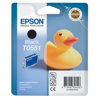 Epson T055140 fekete eredeti tintapatron (≈480oldal)