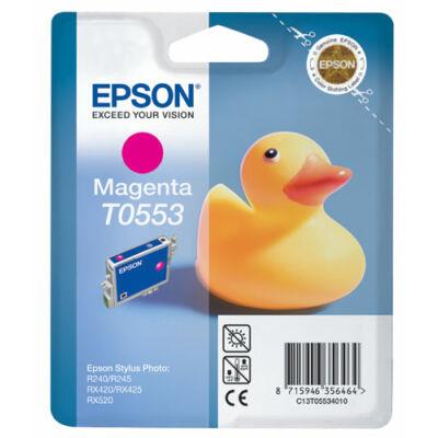 Epson T055340 magenta eredeti tintapatron (≈430oldal)