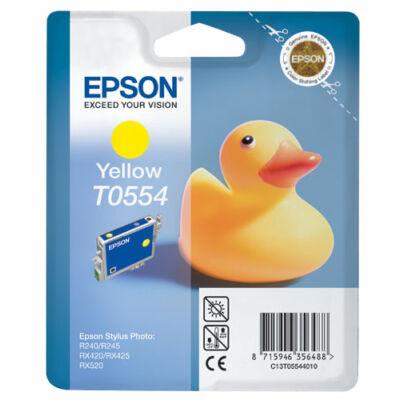 Epson T055440 sárga eredeti tintapatron (≈430oldal)