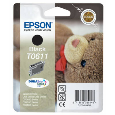 Epson T061140 eredeti tintapatron (≈420oldal)