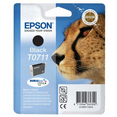 Epson T0711 eredeti fekete tintapatron (to711) (≈245oldal)
