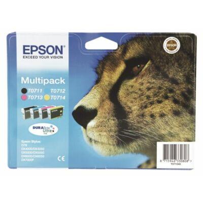 Epson T0715 eredeti tintapatron-pakk (minden szín) (≈845oldal)