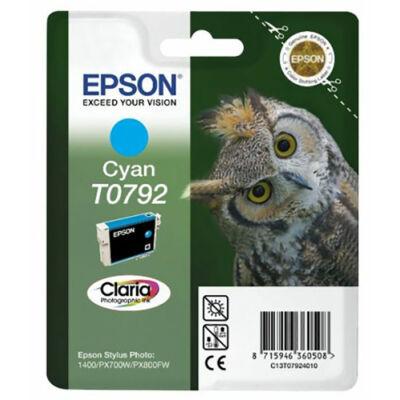 Epson T0792 c (cián) eredeti  tintapatron (to792) (≈350oldal)