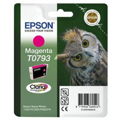 Epson T0793 m (magenta) eredeti  tintapatron (to793) (≈350oldal)