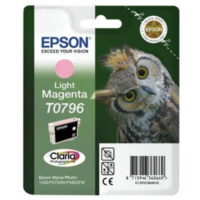 Epson T0796 lm (világos magenta) eredeti  tintapatron (to796) (≈350oldal)