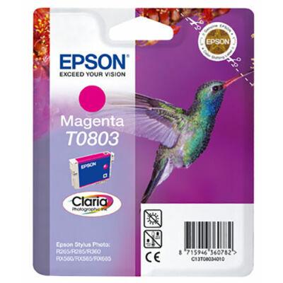 Epson T0803 (M) magenta eredeti tintatintapatron (to803) (≈240oldal)