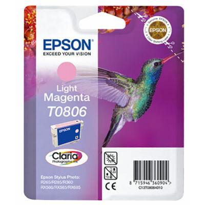 Epson T0806 (LM) v.magenta eredeti tintatintapatron (to806) (≈240oldal)