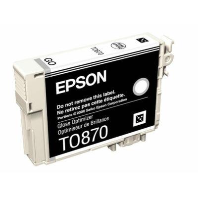 Epson T0870 Gloss Optimizer eredeti tintapatron (To87) (≈700oldal)