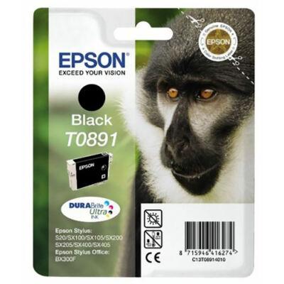 Epson T089140 (Bk) eredeti tintapatron (to891) (≈180oldal)